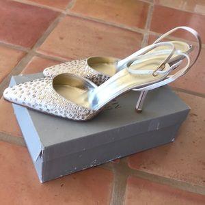 Badgley Mischka heels, Italian Size 9
